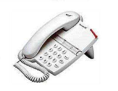 Bt Converse 125 Corded Home Or Office Phone In White