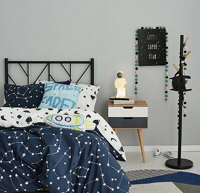 adairs kids CONSTELLATION Cot quilt cover set RRP $99.95