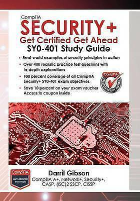 Comptia Security+: Get Certified Get Ahead by Gibson, Darril -Paperback
