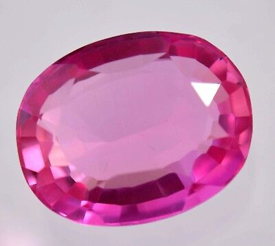 17.55 Ct Natural Huge Pink Burma Ruby GGL Certified Transparent Oval Gemstone
