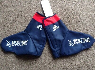 Adidas Team GB British Cycling Overshoes size Large BNWT
