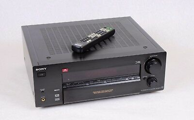Sony STR-DB780 AV receiver with built in phono input for turntable