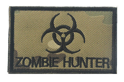 ZOMBIE HUNTER OUTBREAK RESPONSE TEAM MILSPEC TACTICAL EMBROIDERED PATCH  Sh 749