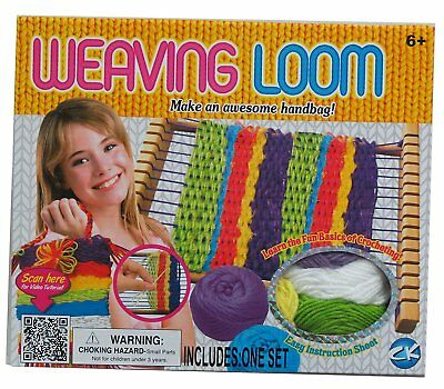 Kids Weaving Loom Craft Handbag