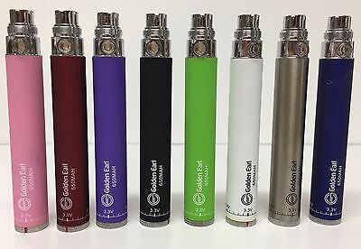 New Golden Earl Twist Battery Variable Voltage 650mah Spinner With Diff CLR