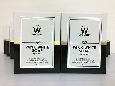 Wink White Soap, Glutathione, ***NEW*** Rejuvenating, Skin Whitening, (12 x 80g)