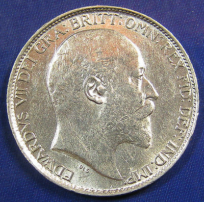 1910 6d Edward VII silver Sixpence in a beautiful grade