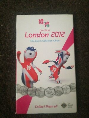 the official london 2012 olympic 50p album completed