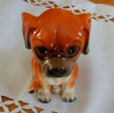 Old China Puppy Dog No Makers Mark, But Very Cute