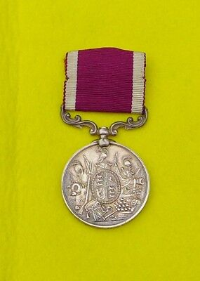 A. Race Army Long Service and Good Conduct Silver Medal - Royal Engineers