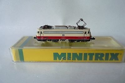 minitrix 2055 locomotive électrique db 112 499-9