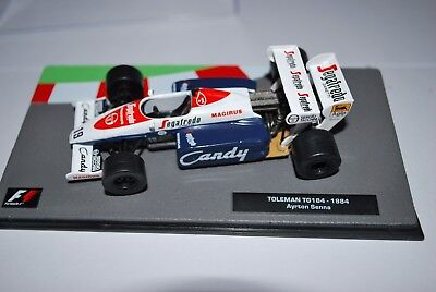 1:43 F1 Collection Toleman TG184-1984-Ayrton Senna