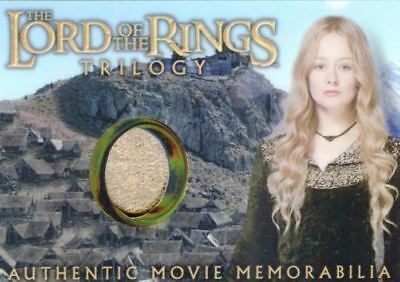 Lord of the Rings Trilogy Chrome Eowyn's Edoras Stables Dress Costume Card
