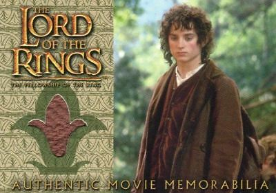 Lord of the Rings Fellowship Update Frodo's Travel Jacket Costume Card