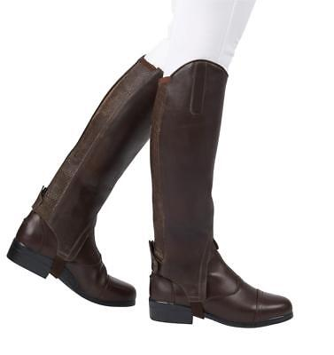 Dublin Meridian Ladies Gaiters,Full Grain Soft Waxy Leather,All Sizes/Colours