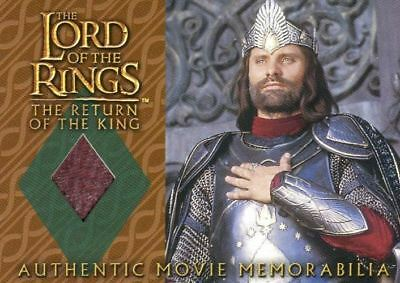 Lord of the Rings Return of King Aragorn's Coronation Shirt Costume Card