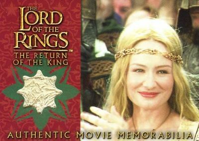 Lord of the Rings Return of King Eowyn's Coronation Dress Costume Card