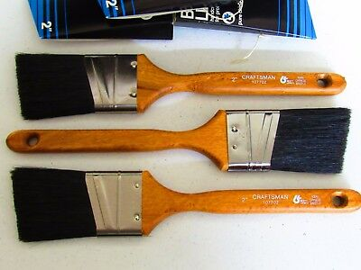 NOS Paint Brush Lot of 3 - USA - Purdy Wooster Liebman Co. AMAZING DEAL!