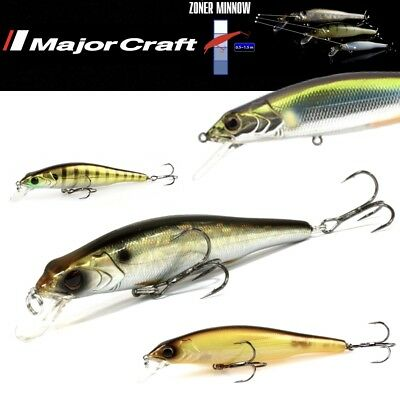 Major Craft Premium Spinning Lure Zoner Minnow 70