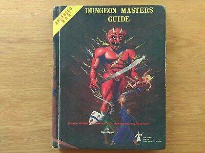 Dungeon Masters Guide, Advanced Dungeons and Dragons First Edition - Gary Gygax