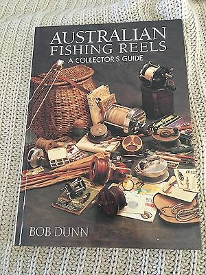 Australian Fishing Reels A Collectors Guide By Bob Dunn Signed By Author