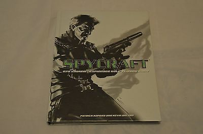 Spycraft RPG D20 spygame RPG roleplaying game book AEG Hardback