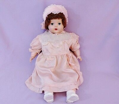 """25"""" MAMA DOLL with WORKING CRY BOX c1950"""