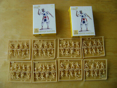 HaT 2 Boxes of Dervish Warriors.Sudan Mahdists.Scale 1:72.Complete & on Sprues