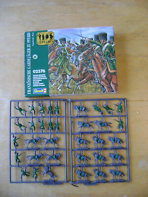 Revell French Chasseurs Cavalry. Scale 1:72.NB Part Painted.Complete & on Sprues