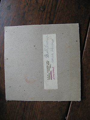 Melbourne Grammer Headmasters Message 1959  Record