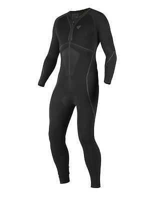 New Dainese D-Core Dry Adult 80% Dryarn Suit 1-Piece, Black/Anthracite, Medium