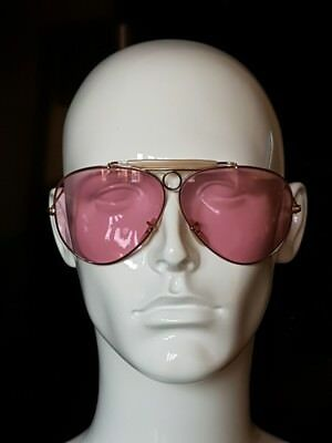 vintage Ray Ban B&L Bausch Lombe rose changeable lenses shooters VGC VERY RARE