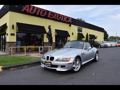 1998 BMW M Roadster & Coupe M Roadster Convertible 2-Door 1998 BMW M Roadster & Coupe 5 Speed Manual 2-Door Convertible SILVER/RED