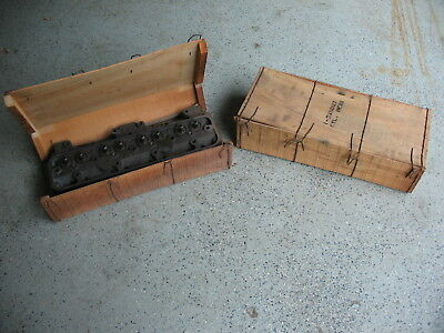 Studebaker V8 Cylinders heads, NOS,  Still in Original Crates