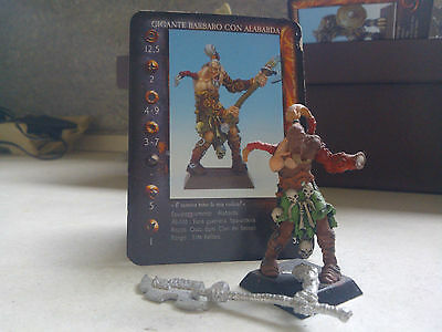 Confrontation-Keltois-Giant Barbarian W/halberd-Partially Painted-Rackham