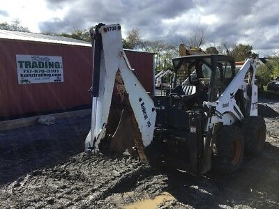 2002 Bobcat 873 Skid Steer Loader w/ 8709 Backhoe Attachment! Coming In Soon!