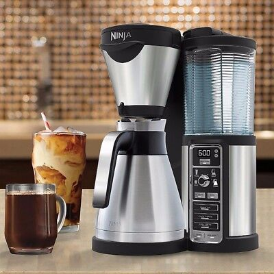 Ninja Coffee Bar Filter Coffee Machine + Steel Thermal Carafe - CF065UK
