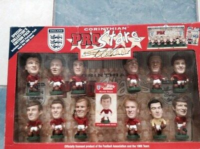 Corinthian Prostars England 1966 World Cup Winners signed by Sir Geoff Hurst