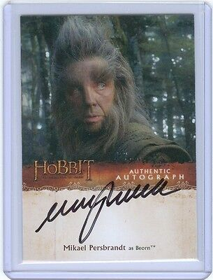 The Hobbit Desolation Of Smaug Autograph Trading Card Mikael Persbrandt as Beorn