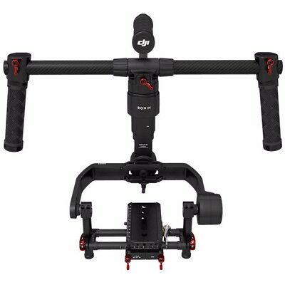 DJI Ronin M 3-Axis Brushless Gimbal Stabilizer w/ 2 Batteries-Practically New