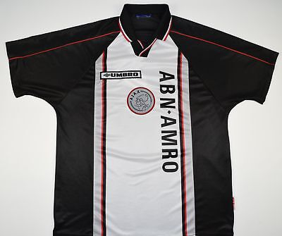 1998-1999 Ajax Umbro Away Football Shirt (Size M)
