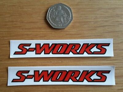 Specialized S Works Stickers Graphics Decals Mtb Mountain Bike Enduro Cycling