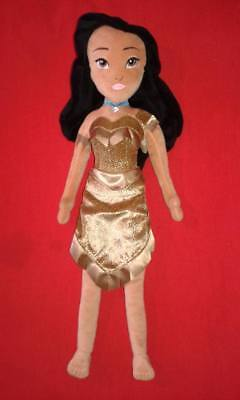 Disney Store Large Plush Pocahontas Doll Disneystore Princess Soft Toy Dolls