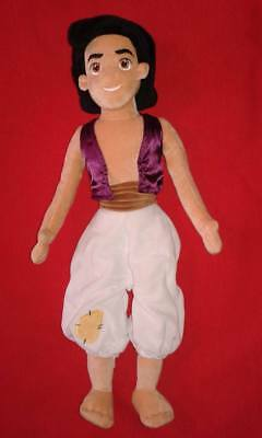 Disney Store Large Plush Aladdin Doll Disneystore Prince Soft Toy Jasmine Film