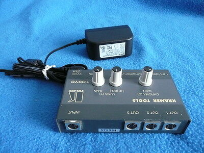 KRAMER 103YC S-video line amplifier/DA