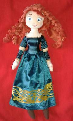 Disney Store Large Plush Merida Doll Disneystore Princess Soft Toy Brave Film