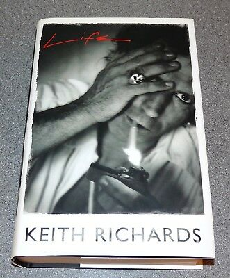 Keith Richards - Life - Autobiography- Rolling Stones - 1St Ed 2010 Signed *rare