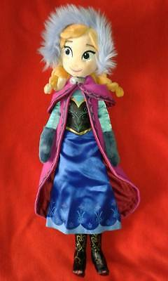 Disney Store Large Plush Frozen Anna Doll Disneystore Soft Toy Elsa Christmas