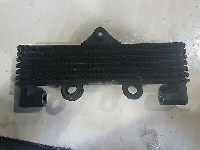 6 row oil cooler streetfighter trackday custom