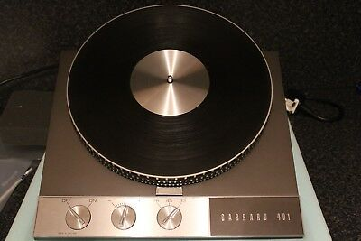 Garrard 401 Motor Unit Rebuilt By Classic Turntable Company, Very Nice Condition